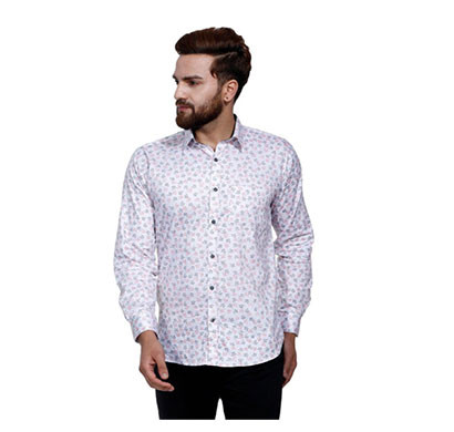 shaurya-f men casual printed shirt