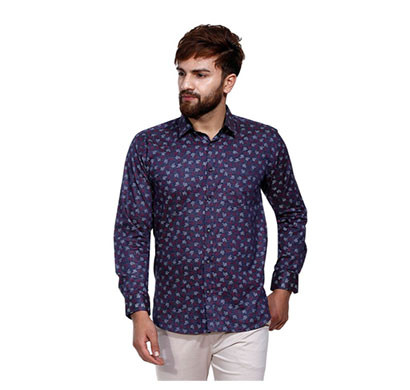 shaurya-f men's casual printed shirt