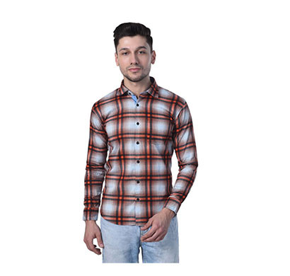 shaurya-f men's full sleeve casual shirt