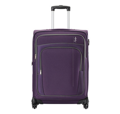 skybags (stgraw55ppl) grand 4w exp strolly 55 (cabin) purple luggage