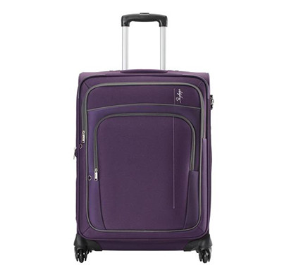 skybags (stgraw68ppl) grand 4w exp strolly 68 (medium) purple luggage