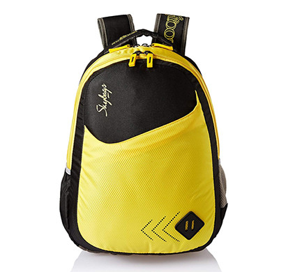 skybags (bpleo4blk) 25 ltrs black casual backpack