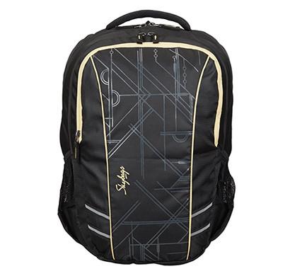 skybags (lpbpgiz4blk) footloose gizmo 4 / black/ 27 ltrs/ laptop backpack