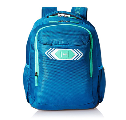 skybags (bpvibfs2blu) footloose viber 02 polyester 32 ltrs blue casual backpack