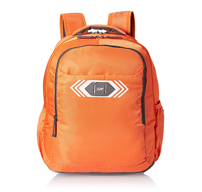 skybags (bpvibfs2ong) polyester 32 ltrs orange casual backpack
