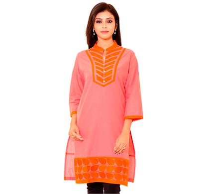 sml originals- sml_3004, beautiful stylish 100% cotton kurti, xl size, red