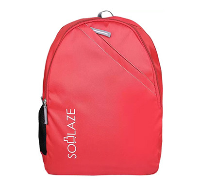 soulaze (lpbpbrad1red) brad 30 ltrs laptop backpack red
