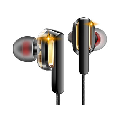 sounce flame in-ear headphones/earphones with stereo mic