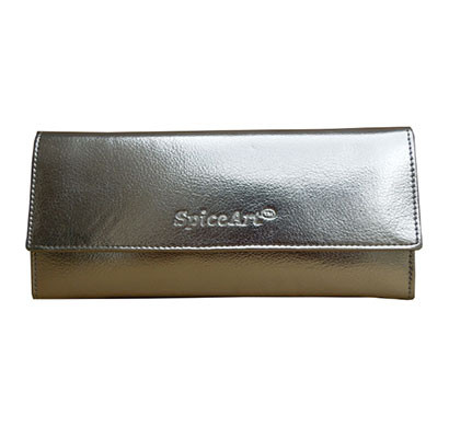 spice art silver leatherite ladies wallets