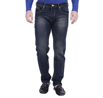 spyker yt- spy greenish dark blue denim for men