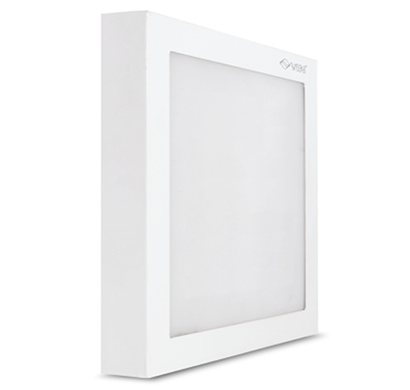 vin luminext sq 12 led surface panel light / warm white