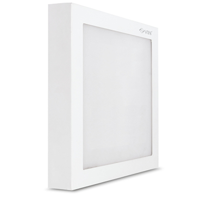 vin luminext sq 18 led surface panel light / warm white