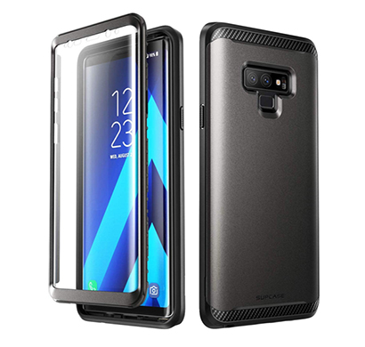 supcase (b07g9tgnwk) (ub neo series) full-body protective dual layer armor cover case with built-in screen protector for samsung galaxy note 9 (black)