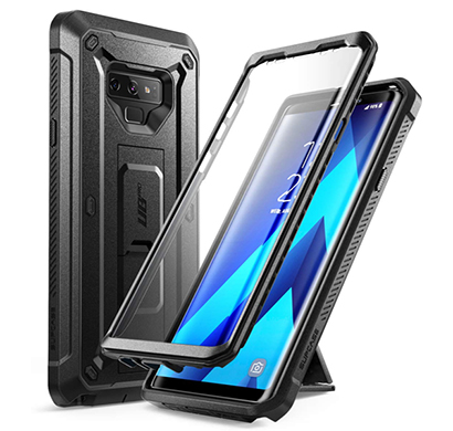 supcaes (b07g7wy94d) unicorn beetle pro series design for samsung galaxy note 9 case, with built-in screen protector & kickstand full-body rugged holster case for galaxy note 9 (2018 release) (black)