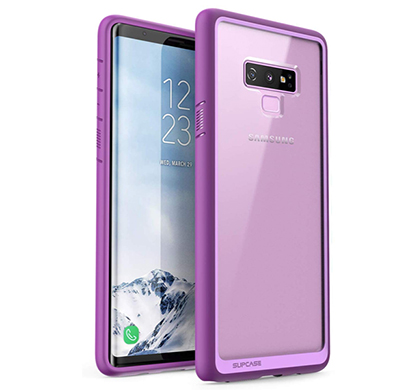 supcase (b07gzqtj7x) tpu unicorn beetle style protective clear case for samsung galaxy note 9 (purple)