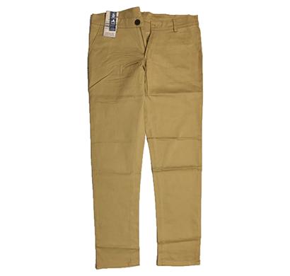 swikar men's cotton pants medium colour beige