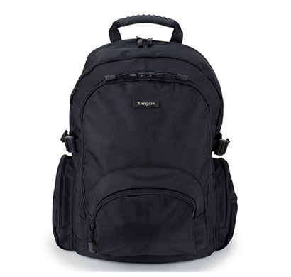 targus classic (cn600) (15.6 inch) laptop backpack (black)