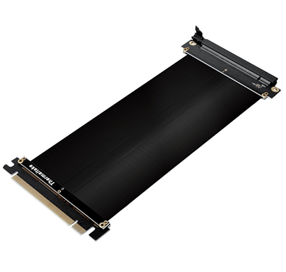 thermaltake ac-053-cn1otn-c1 pci-e x16 3.0 200mm tt gaming riser cable (black)
