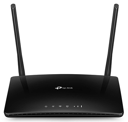 tp-link archer mr200 ac750 wireless dual band 4g lte router (black)