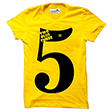 trendzwing tw012 maths equation t-shirt yellow