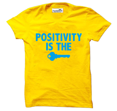 trendzwing tw013 positivity t-shirt yellow
