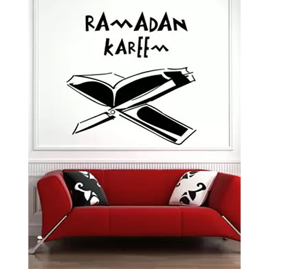 enormous kart spiritual sticker on wall medium ramadan kareem spiritual sticker (pack of 1)