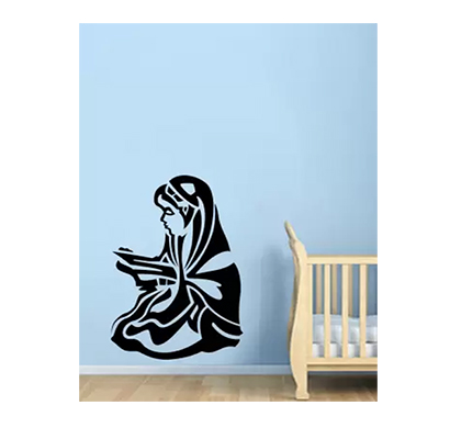 enormous kart ramadan kareem on wall medium spiritual sticker (pack of 1)