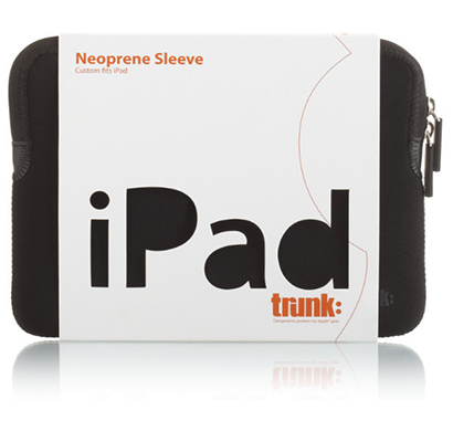 trunk - aips-blk, trunk ipad sleeve, (black)