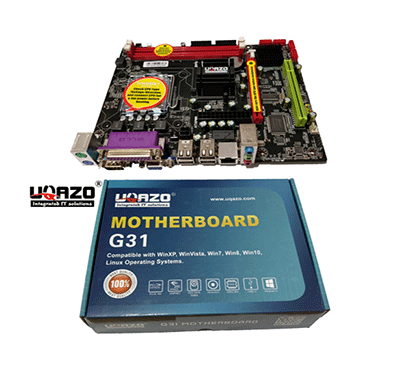 uqazo g31 motherboard with parallel port for desktop