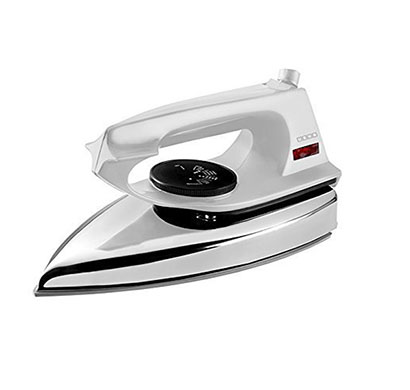 usha 2802 lt (1000 w) metal body dry iron