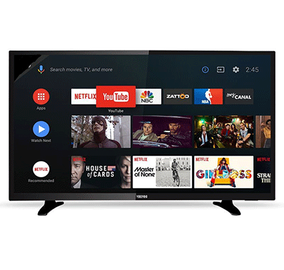 vibgyor 32xxs 80cm (32 inch) hd ready led smart tv black
