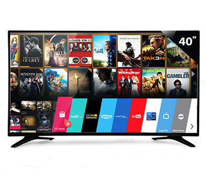 vibgyor 40xxs 102cm (40 inch) full hd led smart tv black