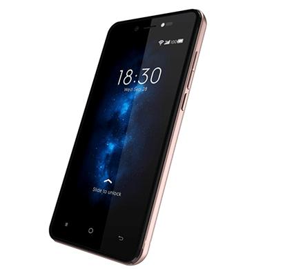videocon graphite v45ed 4g volte android smartphone-gold