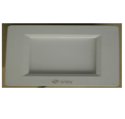 vin vdlr-msa88 led ceiling light/ 8 watts/ warm white