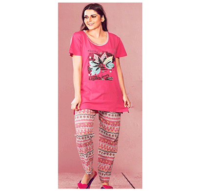 vinson c25191 long pajama set h/s assorted combo (pack 6)