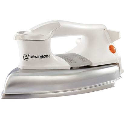 westinghouse - np101m-ds, 1000-watt dry iron heavy, white, 1 year warranty