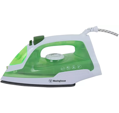 westinghouse- nt14l123p-cs, steam iron, green, 1 year warranty