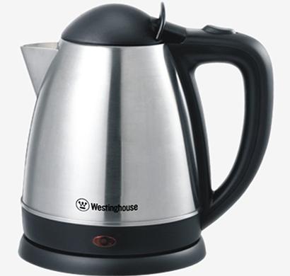 westinghouse - ks18ksm-cg, 1.8 liters, 1800 watts, metal electric kettle, silver, 1 year warranty