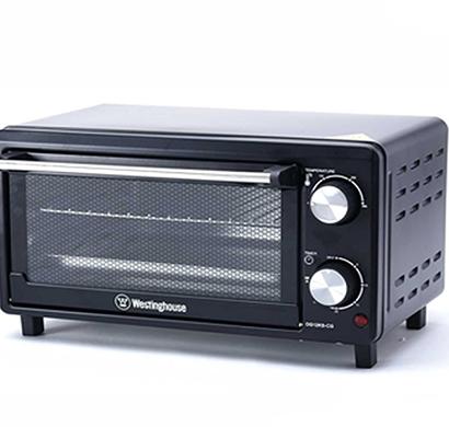 westinghouse - og12ks-cg, 12l oven toaster griller, black, 1 year warranty