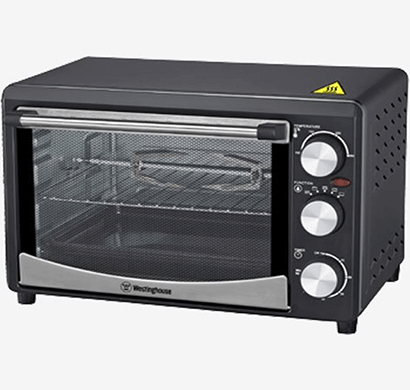 westinghouse - og18krs-cg, 18l, 1200 w, oven toaster griller, black, 1 year warranty