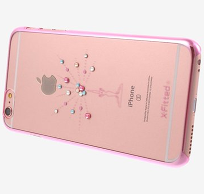 x-fitted - p6cc(p), starry sky iphone 6/6s case, pink