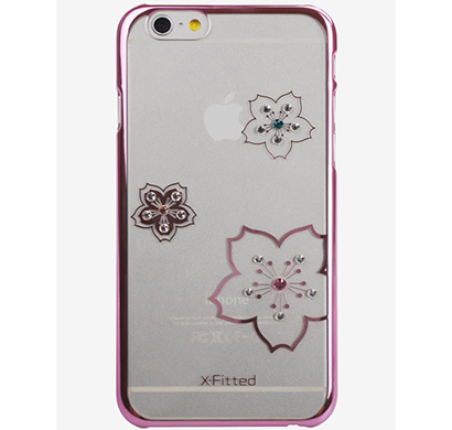 x-fitted - p6fh(p), blossoming p6fh(p) iphone 6/6s case, pink