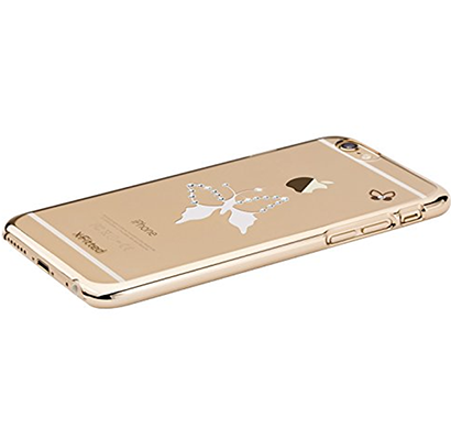 x-fitted - p6dh(g), classic butterfly(gold) case for iphone 6/6s, gold