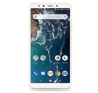xiaomi mi a2 ( 4gb ram/ 64gb storage),mix color
