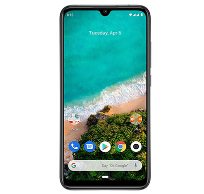 xiaomi mi a3 (6gb ram/ 128gb storage/ 6.08 inch screen), mix colour