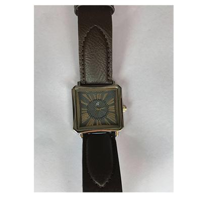 yepme -3594, analog leather strap watch