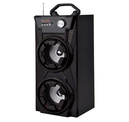 zebion peppy portable speaker with handle 2500 w pmpo