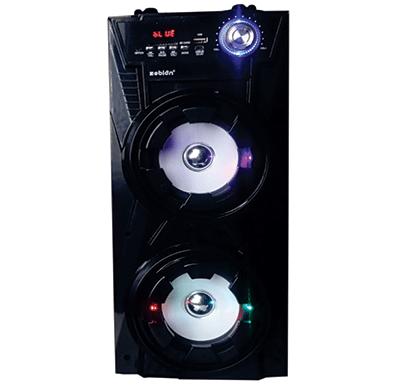 zebion zippy portable speaker with handle 2500 w pmpo
