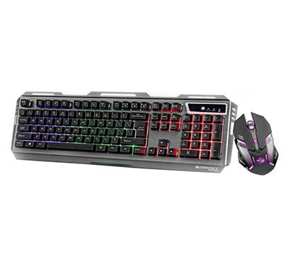 zebronics gaming transformer (keyboard & mouse) combo set (black)