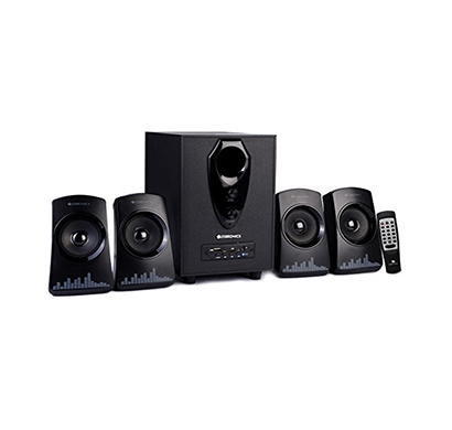 zebronics zeb-feel 4.1 multimedia speakers (black)